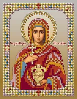 1НкИ-032 Св. Мария  набор - Наборы для вышивания икон «Художественные мастерские»