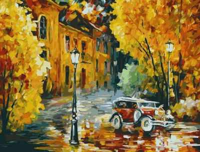 Набор для рисования по номерам Белоснежка 3023-CS Город - раскраска (Белоснежка)
