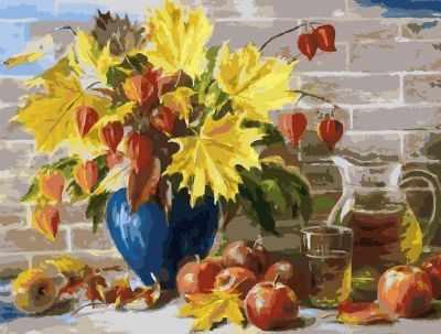 Набор для рисования по номерам Белоснежка 3030-CS Сентябрь - раскраска (Белоснежка)