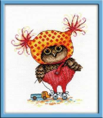 Набор для вышивания Овен 912 Совушка Глаша