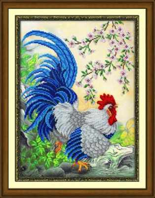 Б1460 Петух (Паутинка) - Наборы для вышивания «Паутинка»
