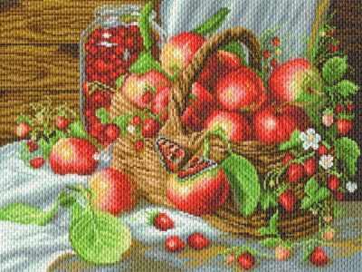 Набор для вышивания Матрёнин Посад 1782 Деревенский урожай - набор для вышивания