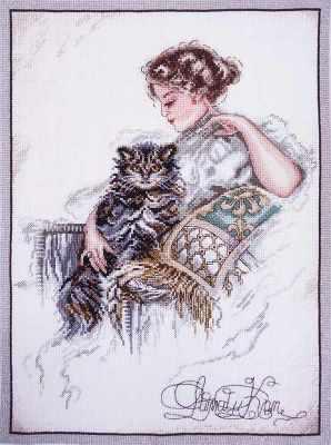 06.004.09 Дама и кот (МИ)