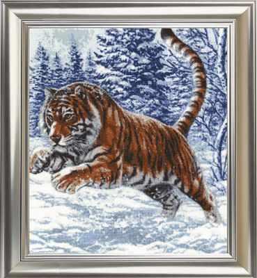 ДЖ-019 Прыжок тигра. Дикие животные