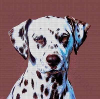 41-2116-НД Далматинец  набор для вышивания (А. Токарева) - Наборы для вышивания Александры Токаревой