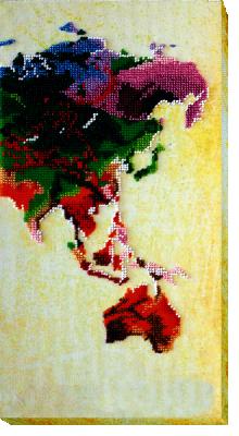 АВ-465  Карта мира-3  - Наборы для вышивания «Абрис-Арт»