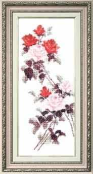 Набор для вышивания Чарiвна Мить ВТ-053 Этюд с красными розами