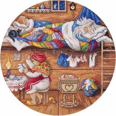 Набор для вышивания Panna СО-1838 Домовой - в семье покой!