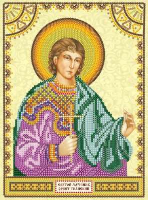 Основа для вышивания с нанесённым рисунком Абрис Арт АСК-132 Святой Орест - схема для вышивания (Абрис Арт)