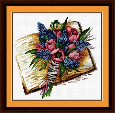 Набор для вышивания МП Студия М-085 Запах книжных страниц
