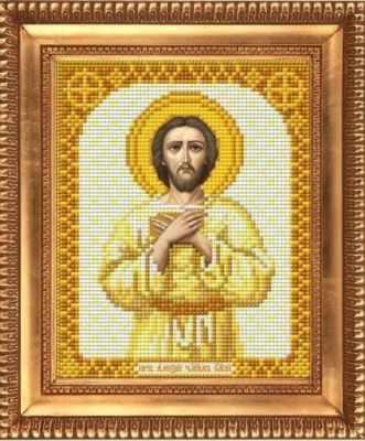 И-5191  Преподобный Алексей Человек Божий - рисунок на ткани