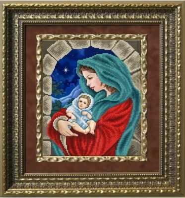 К-4002 Вечерняя молитва - рисунок на ткани