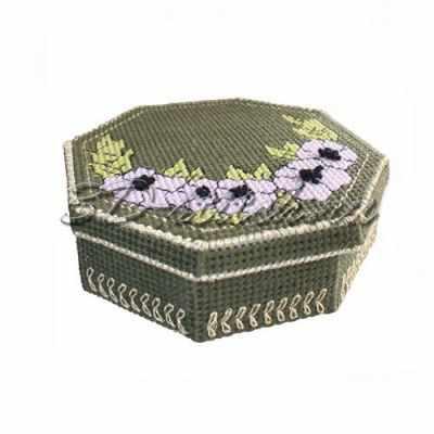 Набор для вышивания 3D-stitch Ш020 Шкатулка