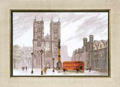 Фото - Набор для вышивания Чарiвна Мить ВТ-086 Лондон. Вестминстерское аббатство набор для вышивания чарiвна мить вт 093 солнечные одуванчики