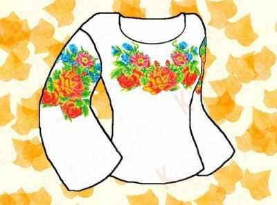 Заготовка для вышиванки Каролинка КБФ-05 Заготовка для сорочки (Каролинка)