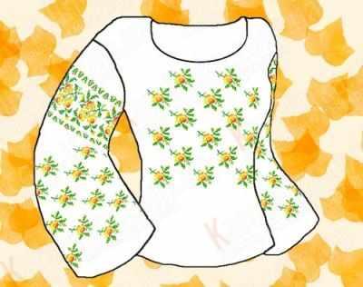 Заготовка для вышиванки Каролинка КБФ-02 Заготовка для сорочки (Каролинка)