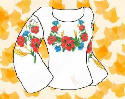 Купить со скидкой КБФ-01 Заготовка для сорочки (Каролинка)