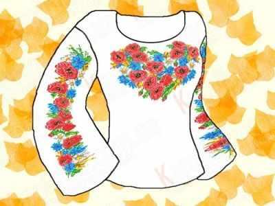 Заготовка для вышиванки Каролинка КБФ-03 Заготовка для сорочки (Каролинка)