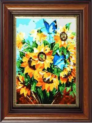 AM019 Летний день - Раскраски по номерам «Color Kit»