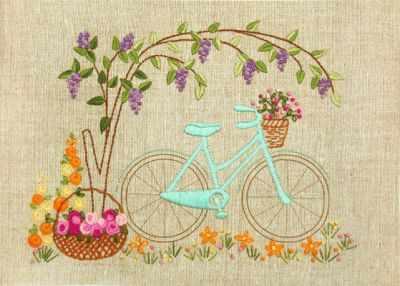 Купить со скидкой НКШ-4002 Велосипедная прогулка (Марiчка)