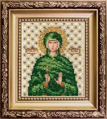 Б-1134  Икона Святой мученицы Марины   чм - Наборы для вышивания икон «Чарiвна Мить»