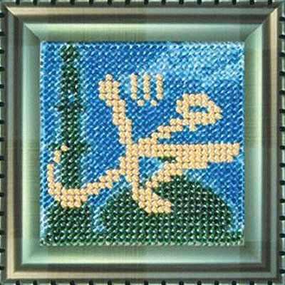 Купить со скидкой 169-РВ Мини-шамаиль «Мухаммад- Пророк Аллаха» (ВМ)