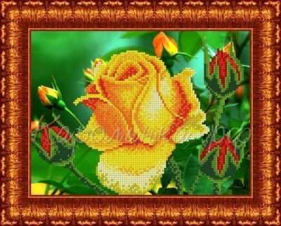 Купить со скидкой КБЦН(ч) 4003 Роза - набор (Каролинка)