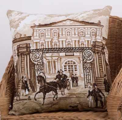 Набор для вышивания Panna ПД-1890 Подушка. Старый Петербург