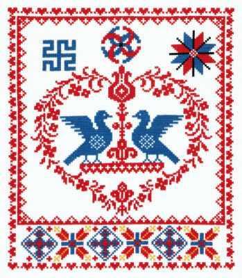 88-04 Счастливая семья - Наборы для вышивания «Чудесная игла»