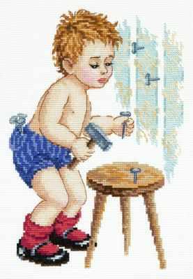 Фото - Набор для вышивания Чудесная игла 33-26 Мужчина в доме! чудесная планета земля