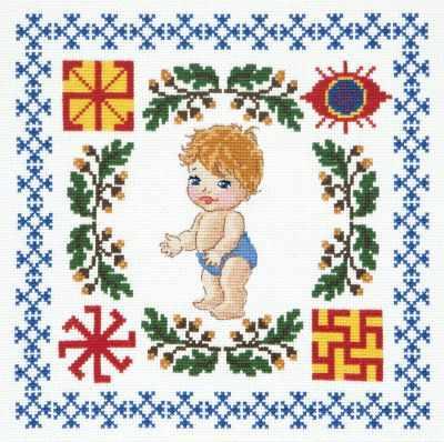 Фото - Набор для вышивания Чудесная игла 88-03 Здоровье сыночка чудесная планета земля