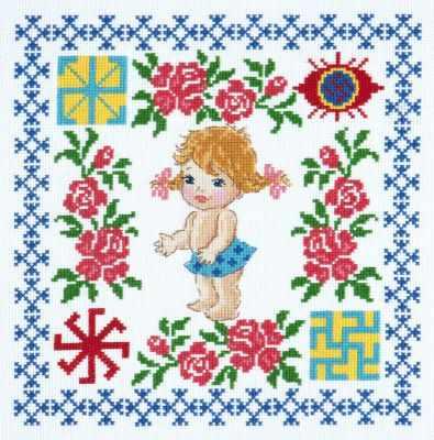 Набор для вышивания Чудесная игла 88-02 Здоровье доченьки