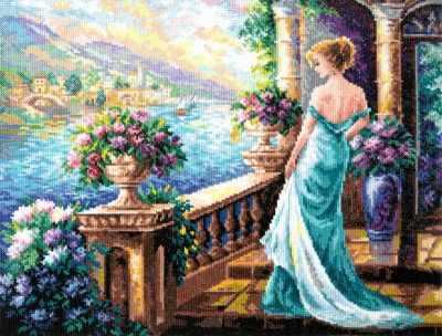 Набор для вышивания Чудесная игла 65-04 Моя Богиня!
