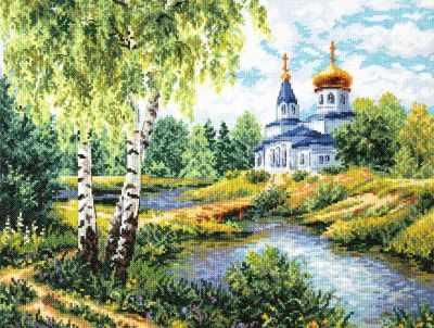 Фото - Набор для вышивания Чудесная игла 43-10 Дорога к Храму чудесная планета земля
