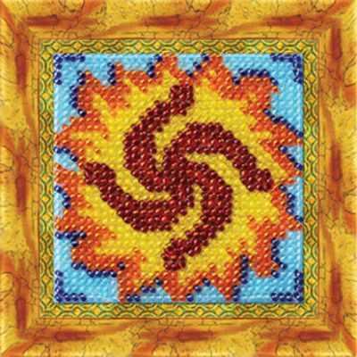 307-СО Славянский оберег  Символ рода  (ВМ) - Наборы для вышивки бисером «Вышивальная мозаика»