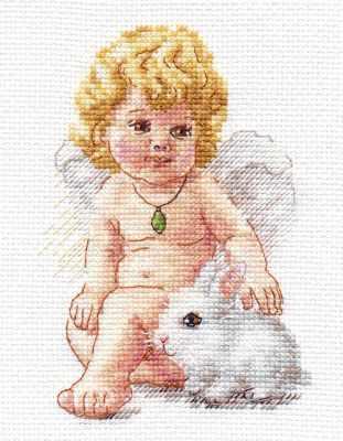 Набор для вышивания Алиса 0-146 Ангел Хранитель