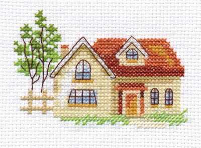 Набор для вышивания Алиса 0-152 Солнечный домик