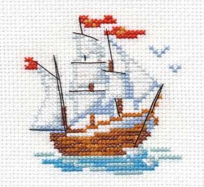 Набор для вышивания Алиса 0-159 Кораблик