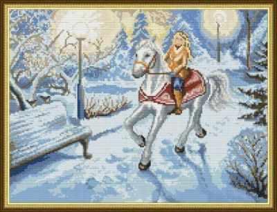 Купить со скидкой ПЗ-026 Зима в парке - набор (Орнамент)