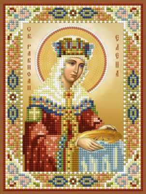 Набор для вышивания иконы Художественные мастерские 1Нбис-041 Св. равноап. Елена - набор