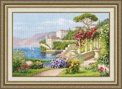 Набор для вышивания Золотое Руно ДЛ-034 Цветущая Италия