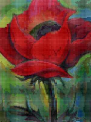 Мозаичная картина Anya Алмазная вышивка 50139 Аленький цветочек - мозаика Anya
