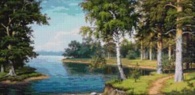 Купить со скидкой 50160 Тропинка вдоль реки - мозаика Anya