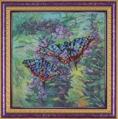 Фото - Набор для вышивания Ажур Б-0010 Тихая песня полета ажур набор для вышивания крестиком цветущий кактус 26 х 17 см 0010
