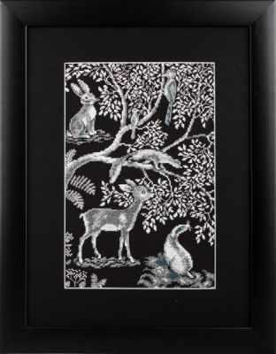 Набор для вышивания РТО M613 Лесные кружева