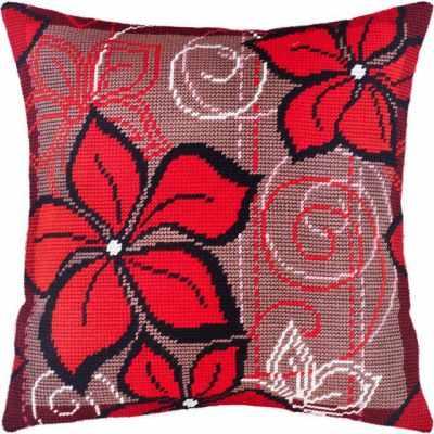 Набор для вышивания Чарiвниця V134 Красные цветы