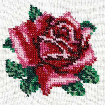 Фото - Набор для вышивания Louise L426 Нежная роза роза вышивка