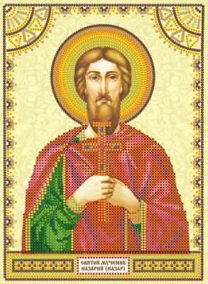 Основа для вышивания с нанесённым рисунком Абрис Арт АСК-136 Святой Назарий (Назар) - схема для вышивания (Абрис Арт)