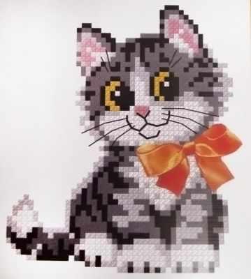 159 Котёнок с бантом