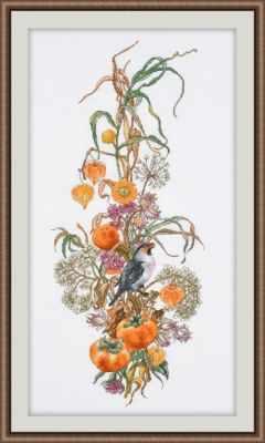 Набор для вышивания Овен 949 Осенняя композиция
